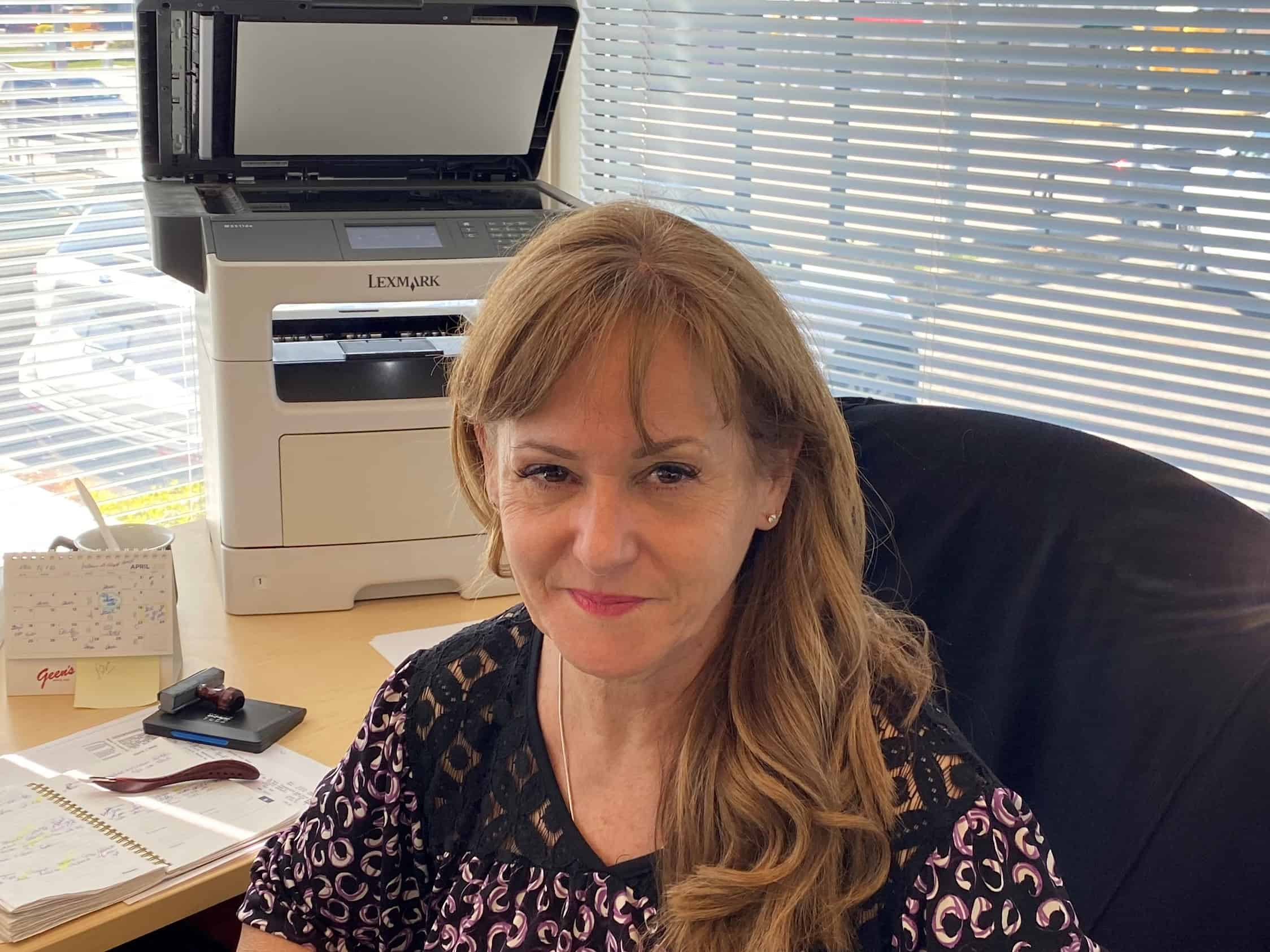 Cathy Wilcox : Finance Manager
